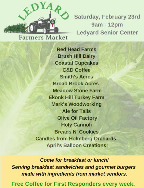 Ledyard Farmers market