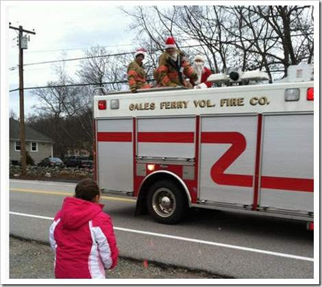 Santa in Gales Ferry