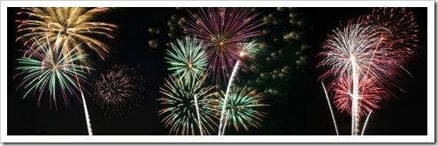 Fireworks - Panorama