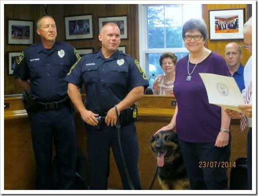 Ledyard Police Dog