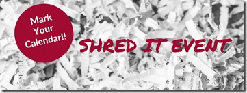 SHRED IT EVENT