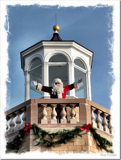 Santa at Avery Point