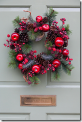Ledyard Christmas Door