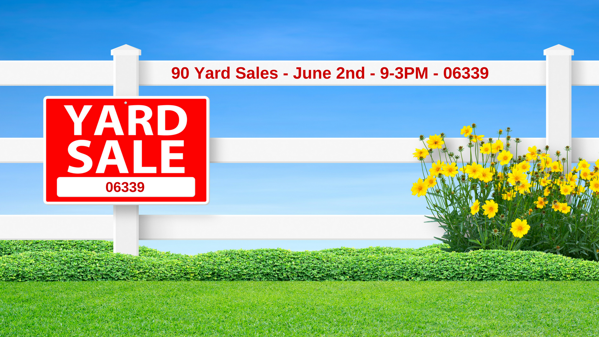 Town Wide Yard Sale - Simply Ledyard CT